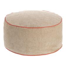 Cyrus Round Pouffe