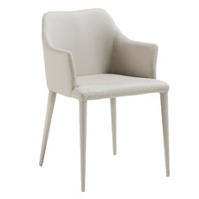 Mazie Faux Leather Dining Chair