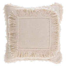 Beige Hutton Cotton Cushion Cover