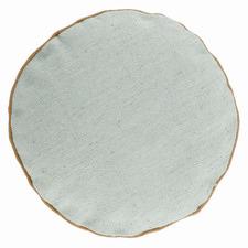Green Fenella Round Cushion