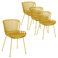 Compton Outdoor Dining Chairs (Set of 4)