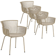 Veronika Outdoor Dining Chair (Set of 4)