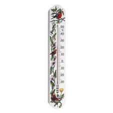 Indoor/Outdoor Plastic Thermometer