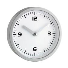 16.3cm Glass Covered Bathroom Clock