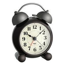 Double Bell Electronic Alarm Clock with Backlight