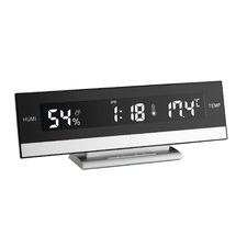 Digital Alarm Clock with Room Temperature
