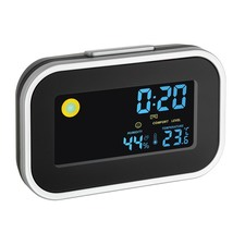 Digital Alarm Clock with Room Climate