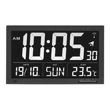 Black Rectangular Alarm Clock