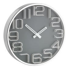 30cm 3D Numbers Wall Clock