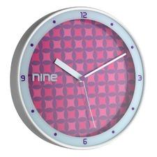 30.5cm Geo Nine Wall Clock