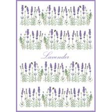 I Love Lavender Tea Towel (Set of 2)