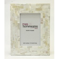 Mother of Pearl Thick Border Photo Frame