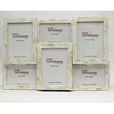 Mother of Pearl Multi Photo Frame