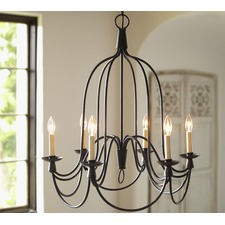 Armonk 6 - Arms Chandelier