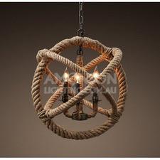 Foucault's Replica Rope Chandelier
