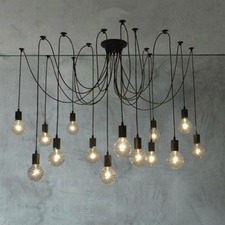 14 Heads Thomas Edison Bulb Chandelier Pendant Light Replica