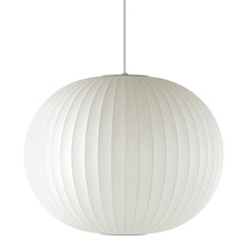 White George Nelson Replica Ball Pendant Light