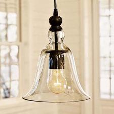 Rustic Glass Pendant Light