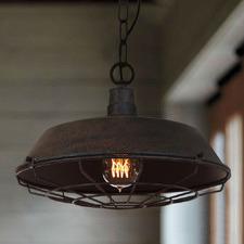 Vintage Wire Steel Pendant