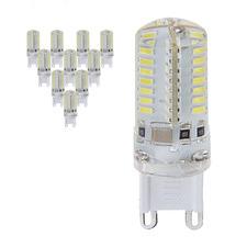 5W Warm White G9 LED Bulbs (Set of 10)