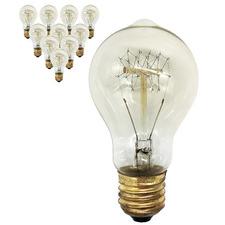 40W Kline Filament E27 Bulbs (Set of 10)