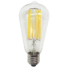 6W ST64 Filament LED E27 Bulb