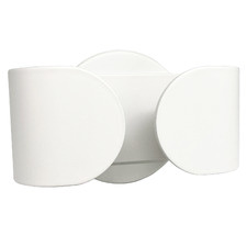 White Nikkita 6W Wall Light