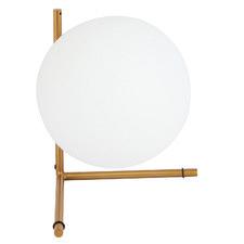 Luura 35cm Metal & Glass Table Lamp