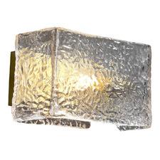 Eleanor Metal & Glass Wall Light