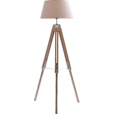 Rubi Natural Large Tripod Floor Lamp