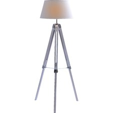 Marianna White Large Tripod Floor Lamp