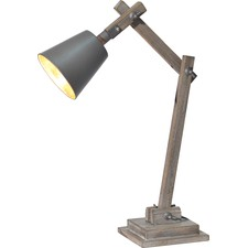Jolley Wood Base And Frame Table Lamp