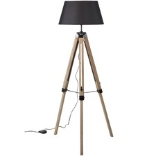 Brandie Ki New & Old Large Tripod Floor Lamp