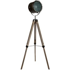 Steel Grey Franky Tripod Floor Lamp