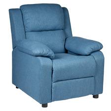 Blue Erika Recliner Chair