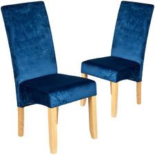 Winsor Velvet Dining Chairs (Set of 2)