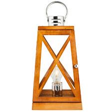Natural Lantern Styled Bamboo Table Lamp