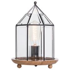 Trobe Bamboo & Glass Table Lamp