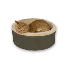 Thermo Leopard Kitty Bed