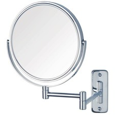 8x Magnification Wall Mounted Shaving Mirror