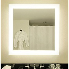 S Range Square Backlit Mirror without Border