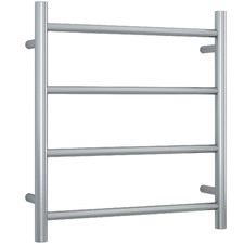 Straight 4 Bar Heated Stainless Steel Towel Rail
