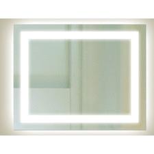 Rectangular Backlit Mirror with Border