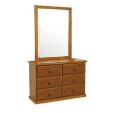 Chevy Dressing Table With Mirror