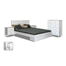 Avignon King Single Bed With Storage