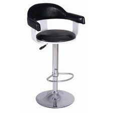 Retro Swivel Barstool with Footring