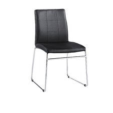 Modern Cushion Dining Chair (Set of 2)