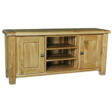 Danube Medium TV unit in Distressed Natural Dusk