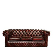 Max Chesterfield 3 Seater Sofa
