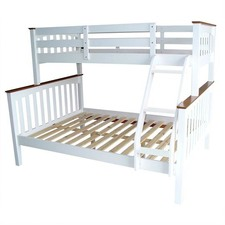 Sarah Timber single over double Bunk Bed